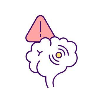 Single gene disorder RGB color icon