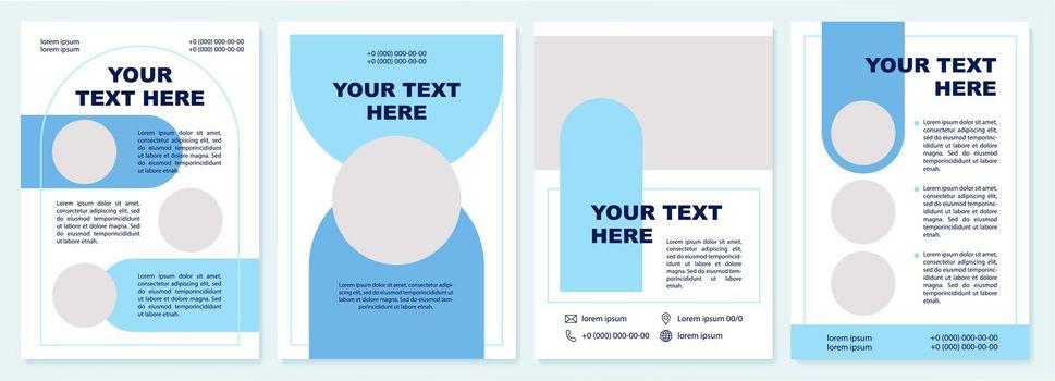 Marketing guide brochure template
