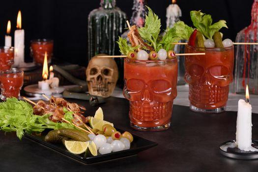 Bloody Mary- Creepy Halloween party