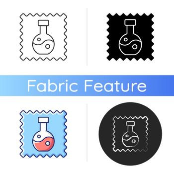 Synthetic fabric property icon