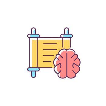 Philosophy RGB color icon