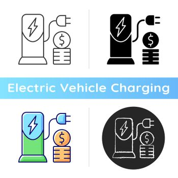 Charging cost icon