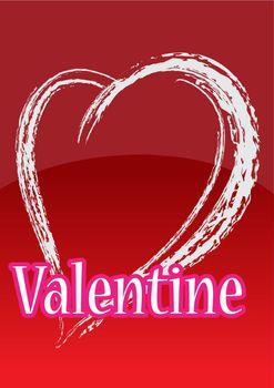 Vector stylish valentines day background