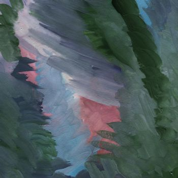Colored Hand Drawn Gouache Abstract Texture Background.