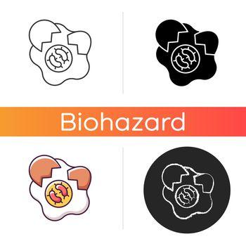Foodborne disease icon