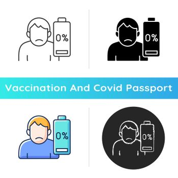 Vaccination effect icon