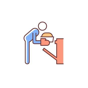 Bake RGB color icon