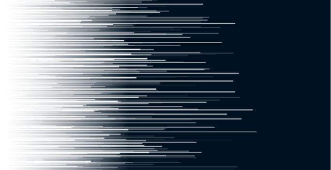 dynamic horizontal white lines abstract background
