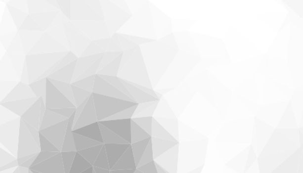 white low poly triangle background