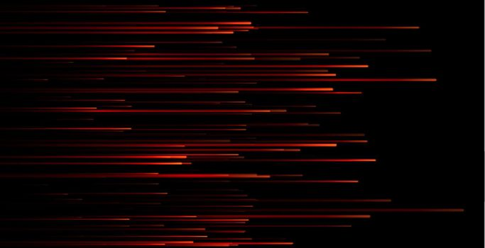 dynamic red motion lines wallpaper design