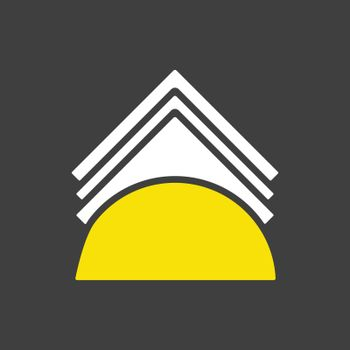 Napkins and napkin holder vector icon