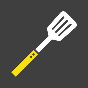 Kitchen spatula vector icon. Kitchen appliance