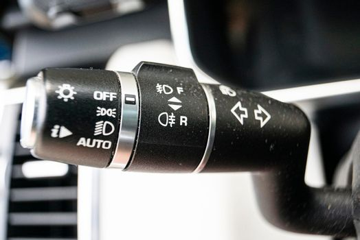 Direction indicator lever 2