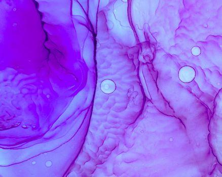 Ethereal Water Texture. Liquid Ink Wave