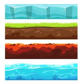 Landscape ground layers set