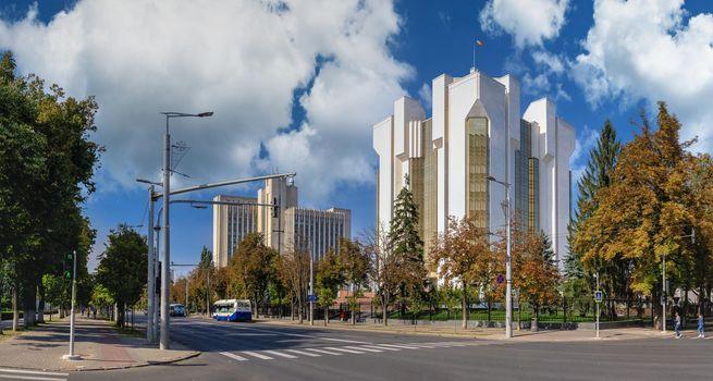 Sector Court Center in Chisinau, Moldova