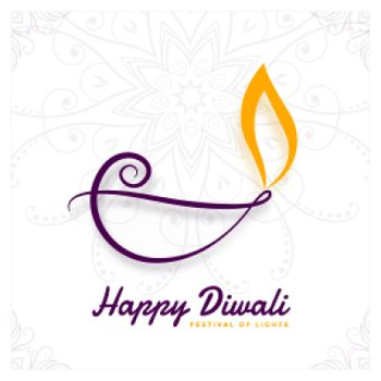 creative diya design for diwali festival