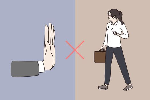 Gender discrimination of women at workplace