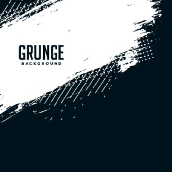 abstract black and white grunge halftone background