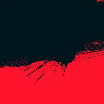 red and black grunge halftone background