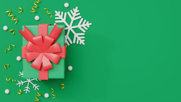 Merry Christmas and Happy New Year, Collection realistic gift boxes presents and decorative
