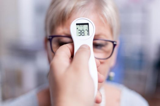 Examination of body temperature