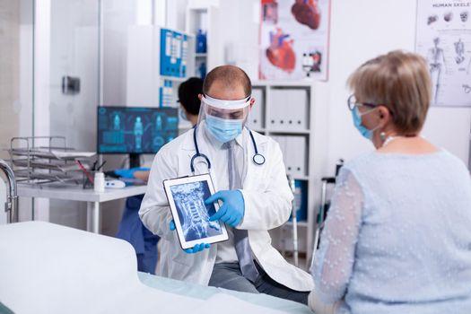 Examination of x-ray