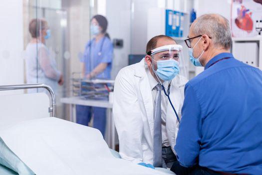 Examination of heart
