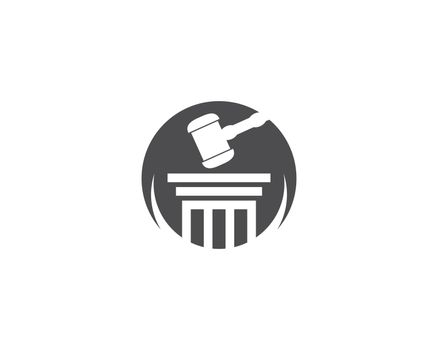 Law firm logo ilustration vector