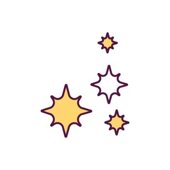 Platelets RGB color icon