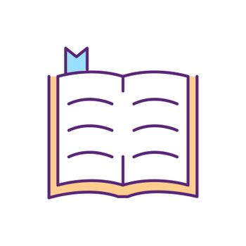 Bible RGB color icon