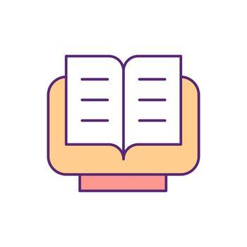 Quran RGB color icon