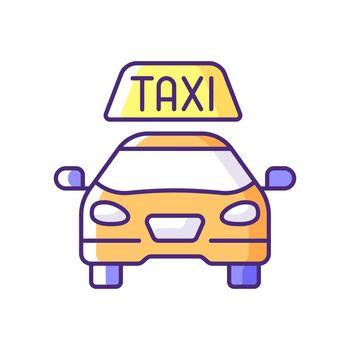 Taxis RGB color icon