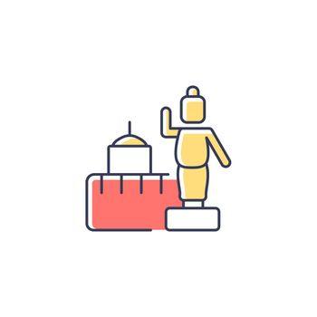Lumbini RGB color icon
