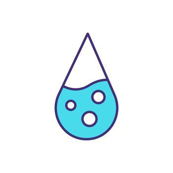 Water RGB color icon