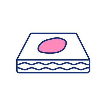 Bedwetting RGB color icon