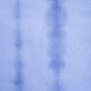 Indigo Stripe Tie Dye. Space Watercolor Ethnic