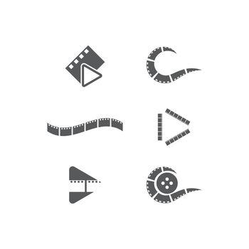 filmstrip Logo Template