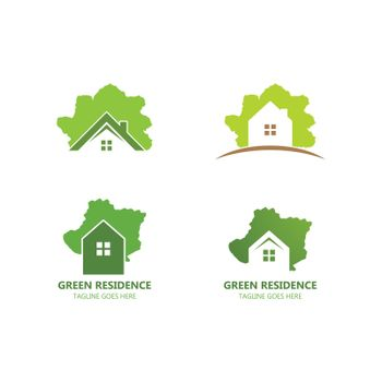 Green Residence logo
