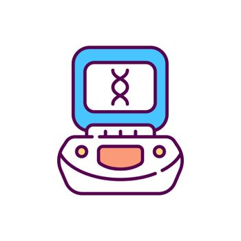 Centrifuge RGB color icon
