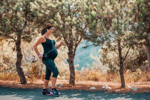 Pregnant Woman on Workout