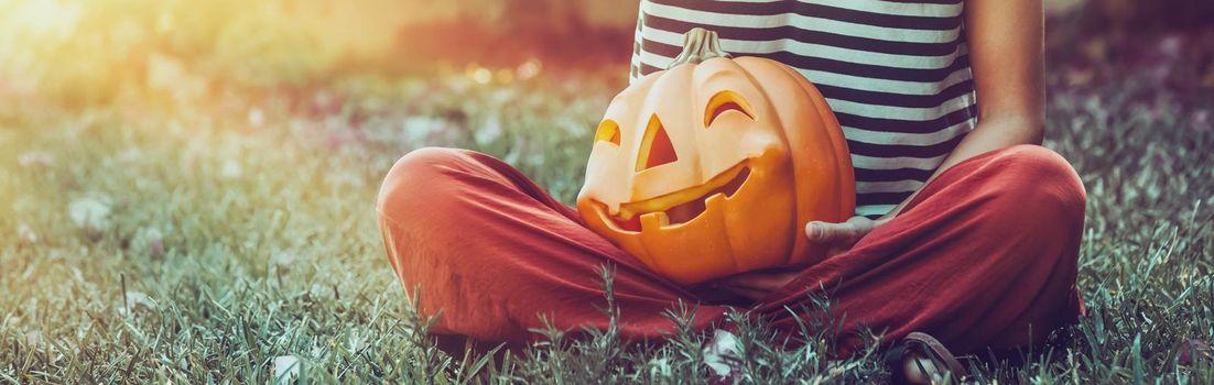 Halloween Holiday Backgound