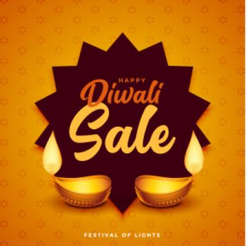 diwali sale poster design for business promotion in festival