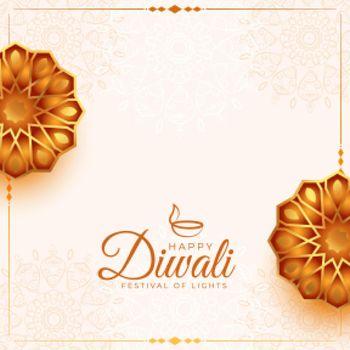 greeitng design for diwali festival