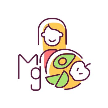 Magnesium RGB color icon