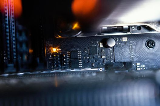 hardware component background. High quality photo