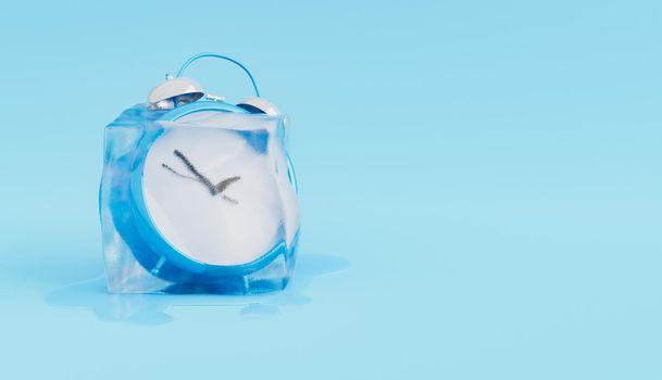 Freeze time concept