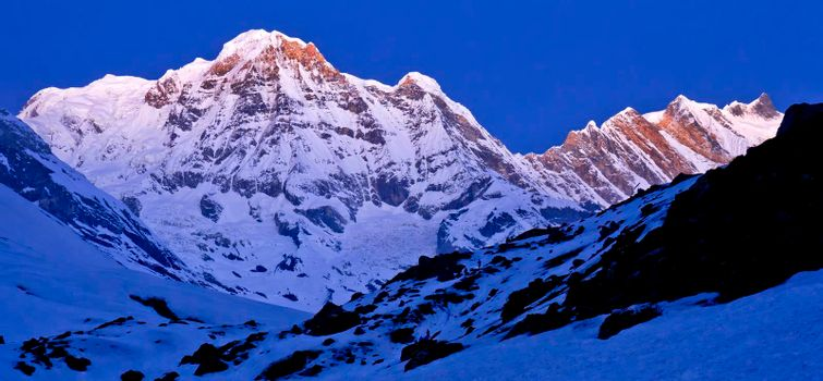 Annapurna South, Annapurna Conservation Area, Himalaya, Nepal