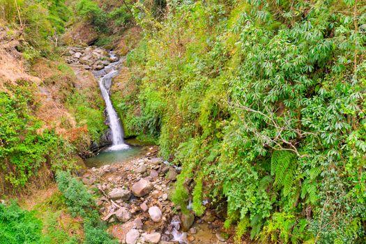 Waterfall, Annapurna Conservation Area, Himalaya, Nepal