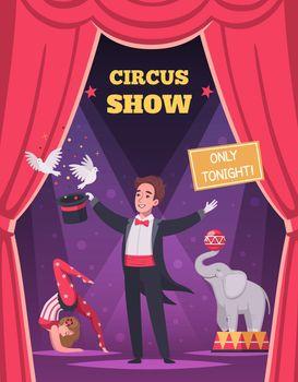 Circus Program Poster